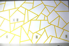 Best tape for walls Painters Tape Tape For Painting Walls Geometric Triangle Wall Paint Design Idea With Tape For Life Best Painters Tape For Painting Walls 07078co Tape For Painting Walls Best Tape For Painting Painters Tape Wall