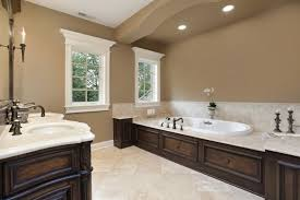 modern bathroom cabinet colors. Traditional Built In Tub And Taupe Best Bathroom Paint Color Ideas Using Modern Recessed Lights Cabinet Colors B
