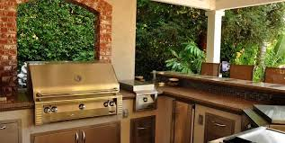 backyard kitchen and bar swimming pool the green scene sworth ca