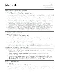Research Resume Samples Clinical Research Coordinator Resume Sample ...