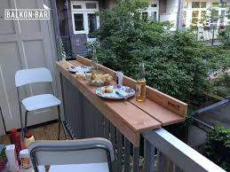 deck furniture ideas. Railing Bar For Balcony Dining Balkon Deck Furniture Ideas
