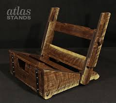 atlas low rider guitar amplifier stand curly walnut kick out incredible amp regarding 18