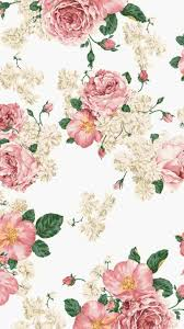 Free Floral Backgrounds Roses Wallpaper Vintage Paintings Watercolor And