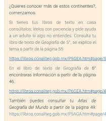 Libro de atlas de méxico 6 grado 2020 : Maestra Mily Geografia Sexto Grado 24 08 2020 Aprende Facebook