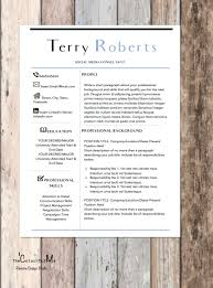 Sale Modern Professional Resume Template Cover Letter For Word