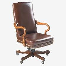 executive office chairs leather wood beautiful wood leather swivel desk chair medium size desk leather fice