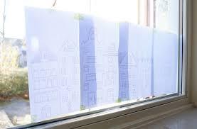 Windowpainting Mit Kreide Die Fenster Dekorieren Lotte
