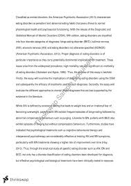 psyc eating disorder essay psyc assesment personality  psyc2101 eating disorder essay