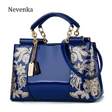 Nevenka Embroidery <b>Women Bag Leather Purses</b> and <b>Handbags</b> ...