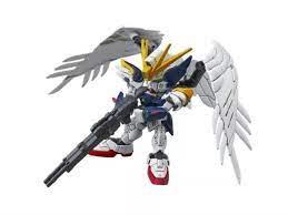 Bandai SD Đồ Chơi Wing Gundam Zero EW Tiêu Chuẩn Cũ Cho Bé Trai
