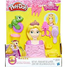 hasbro play doh royal hair nails makeup featuring disney princess rapunzel