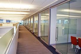 office glass partitions walls panels