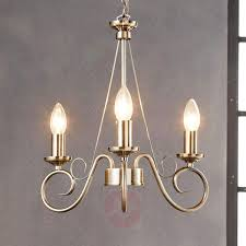 antique brass chandelier marnia 3 bulb 9621014 31