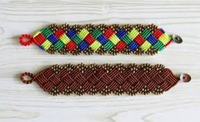 Macrame Bracelet Patterns Interesting 48 DIY Macrame Bracelet Patterns Macramé Bracelet Tutorials