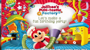 Jollibee Kids Party package - YouTube