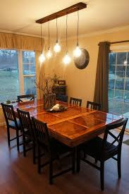 kitchen table lighting. Picture Of All Finished! Kitchen Table Lighting