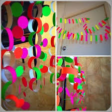 Fluro/Neon Party Decorations!
