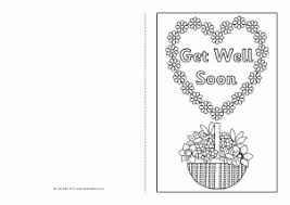 Get Well Soon Cards Printables Printable Greetings Cards For Kids Sparklebox