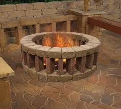 Block Fire Pit Kit 75 Diy Fire Pit And Loving The Concrete Benches In The Back 6