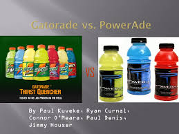 Vs Gatorade Vs Powerade Ppt Video Online Download