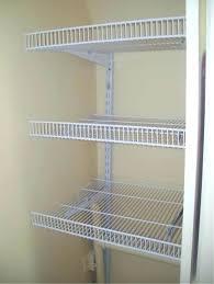 closet shelving. Wire Closet Shelf Shelving