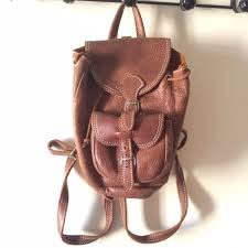 mini roots brown leather backpack m 578eae9ac28456024b00ff80