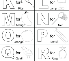 Free Alphabet Coloring Pages For Toddlers Free Printable Alphabet