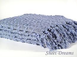 Periwinkle Throw Blanket