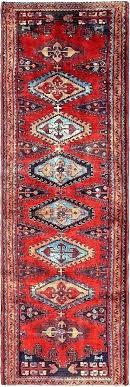 3 x rug runner rugs 4 12 patchwork design