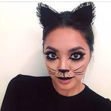 face painting and makeup how to make a cat s nose whiskers with makeup cuteidea leopardprint kitty cuteidea diy creative makeup art hair makeup cat makeup
