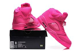jordan shoes for girls 2015 pink. 2015 air jordan 5 gs all-pink for sale-4 shoes girls pink