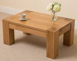 light wood coffee table small