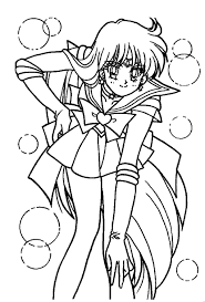 Small Picture Sailor Mars Coloring Page sailormoon Sailor Moon Coloring