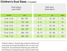 Crocs Kid Shoe Size Chart Kids