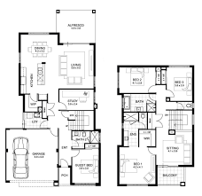 Small Picture Narrow Lot Double Storey House Designs Perth APG Homes