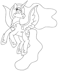 Small Picture My Little Pony Nightmare Moon Coloring Pages Get Coloring Pages