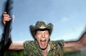 in this file photo ted nugent screams for a photo at his ranch near crawford