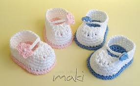 Free Baby Crochet Patterns For Beginners Beauteous FREE CROCHET PATTERN Super Cute Mini Booties Maki Crochet Patterns