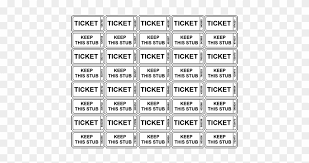 tickets template printable raffle tickets template numbered raffle tickets