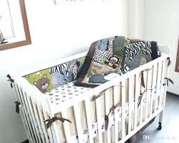 giraffe crib bedding baby lion duvet cover cot set cartoon uptown 4 piece beddi nursery the peanut shell bedding sets uptown giraffe