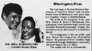SHS-Warrington-Knox Wedding - Newspapers.com