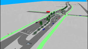 Superstreet Design Super Streets Intersection Simulation