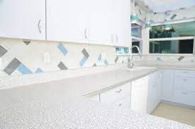 laminate countertop in a funky midcentury modern pattern
