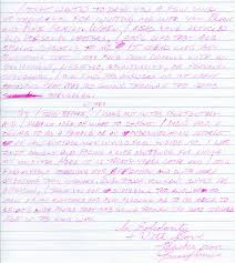 Thank You Letters | Black And Pink
