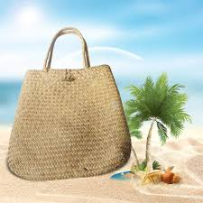 Charming Women <b>Summer Beach</b> Tote <b>Woven Bag</b> Casual Straw ...