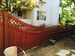 vinyl fence colors. Rosewood Color Vinyl Fence In Hastings. Hastings Colors M