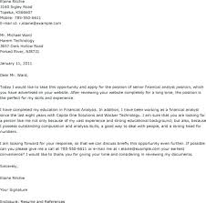 Resume For Financial Analyst Amazing Cover Letter Finance Examples Financial Advisor Resume Examples