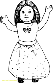 American Girl Doll Coloring Pages To Print 2019 Unique Free