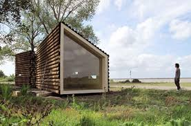 Small Picture OLGGAs Portable Log Cabin Conceals a Sleek Modern Interior