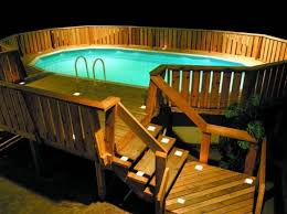 swimming pool lighting options. 40 uniquely awesome above ground pools with decks swimming pool lighting options a